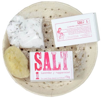 Sea Salt scrubs & soaks